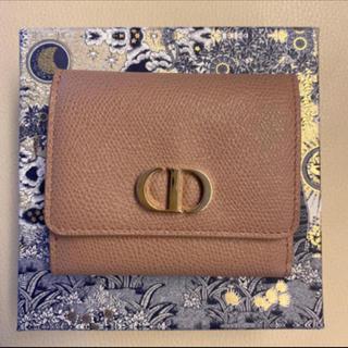 "Christian Dior - 新品未使用""30 MONTAIGNE""ロータスウォレットmediumwallet"