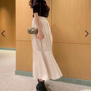 snidel - snidel 最終値下げ ギャザーティアードIラインスカート