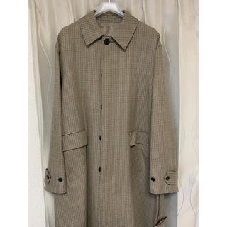 COMOLI - stein 19ss oversized down pat coat