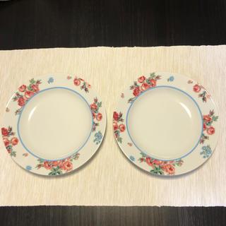 ローラアシュレイ(LAURA ASHLEY)のLAURA ASHLEY ローラアシュレイ パスタプレート お皿  2枚SET(食器)