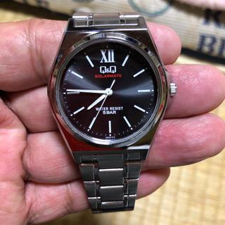 シチズン(CITIZEN)の美品 シチズンQ&Qソーラー式腕時計【稼働品】(腕時計(アナログ))