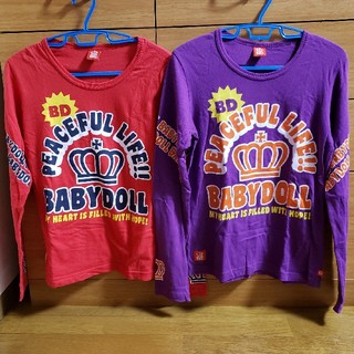 ベビードール(BABYDOLL)のベビードール ロンT2枚セットS(Tシャツ(長袖/七分))