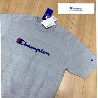 チャンピオン(Champion)の新品定価14080円/チャンピオンゴルフ/ストレッチ半袖セーター/ゴルフウェア (ウエア)