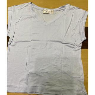 ナノユニバース(nano・universe)のTシャツ  水色(Tシャツ(半袖/袖なし))