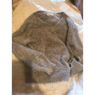 LEPSIM - LEPSIM新品未使用シャギーニット★グレーゆっくりめセーター