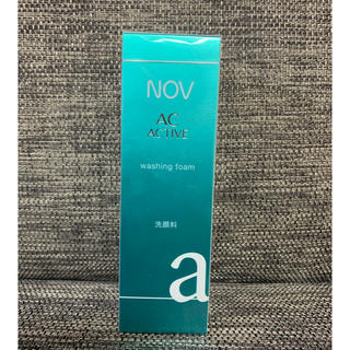 ノブ(NOV)のNOV AC ACTIVE washing form  洗顔料(洗顔料)