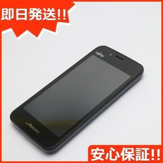 フジツウ(富士通)の中古 ARROWS M01 ブラック (スマートフォン本体)