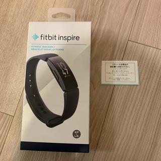 fitbit inspire ブラック 新品未開封