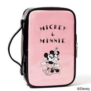 Disney - sweet 8月 付録 ミッキー&ミニー ドレッサーポーチ