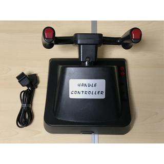 ファミリーコンピュータ(ファミリーコンピュータ)のファミコン HORI ELECTRIC HANDLE CONTROLLER(家庭用ゲーム機本体)