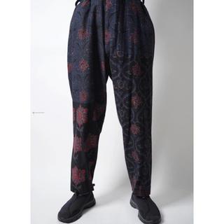 Yohji Yamamoto - indian pattern pants