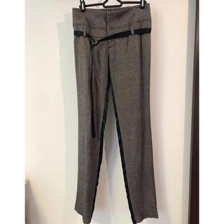 ダブルスタンダードクロージング(DOUBLE STANDARD CLOTHING)のテーパードパンツ ツイードパンツ(カジュアルパンツ)