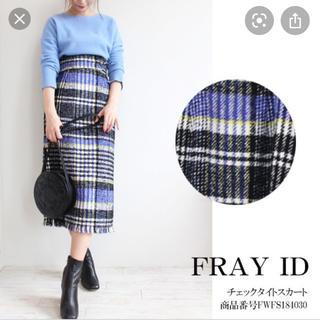 FRAY I.D - FRAY I.D チェックタイトスカート