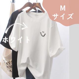 ⭐️大人気⭐️ スマイル Tシャツ 白 半袖 Mサイズ