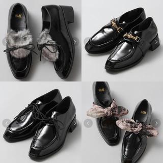 ハレ(HARE)のHARE レースUPシューズ(ローファー/革靴)