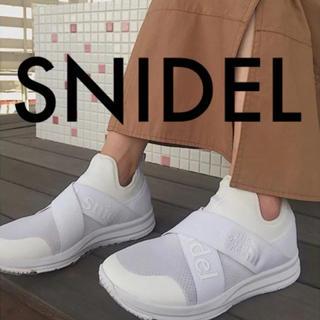 snidel - スナイデルノースフェイスコラボスニーカー