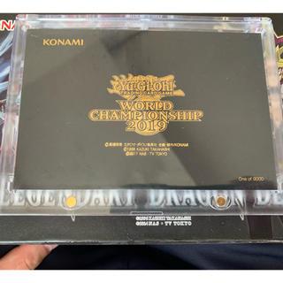 遊戯王 - 遊戯王 wcs2019 世界大会 遊戯王 真紅眼の黒竜 ミレニアムシークレット
