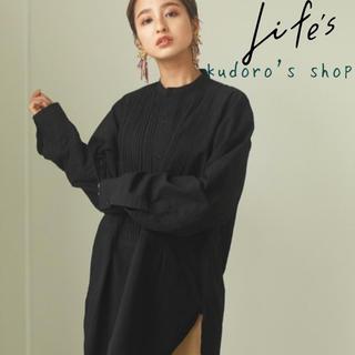 TODAYFUL - TODAYFUL■新品未使用■Tuck Dress Shirts BLK