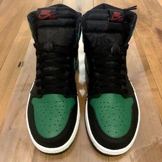 NIKE - Jordan 1 Retro High Pine Green Black