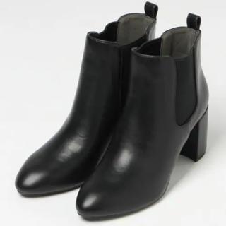 LOWRYS FARM - ローリーズファーム サイドゴア ショートブーツ ブラック 黒
