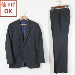 P.S.FA スーツ A6 メンズ 03 L 黒 tqe 秋冬春★訳あり★美品★(セットアップ)