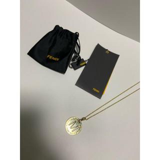 フェンディ(FENDI)のFENDI フェンディ ネックレス ゴールドチェーン 美品 ヴィンテージ(ネックレス)