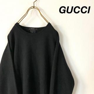 Gucci - GUCCI イタリア製 ヘビーウエイト ローゲージニット ユーティリティニット