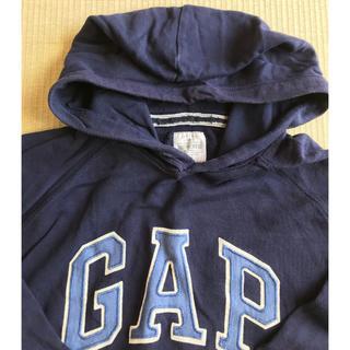 GAP - GAP☆紺 ロゴ パーカー