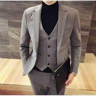 定番 メンズスーツ 披露宴 ビジネス zb476(セットアップ)