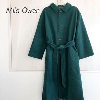 ミラオーウェン(Mila Owen)のMila Owen ミラオーウェン ステンカラーコート(ロングコート)