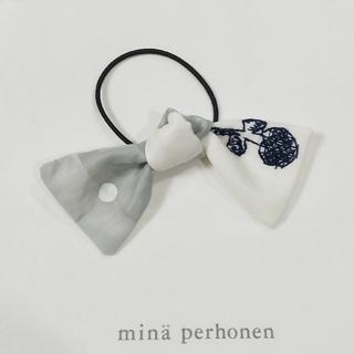 ミナペルホネン(mina perhonen)のミナペルホネン ハンドメイドヘアゴム etude×ドット2(ヘアゴム/シュシュ)