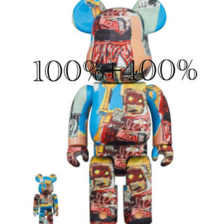 MEDICOM TOY - BE@RBRICK JEAN-MICHEL BASQUIAT #6 400%