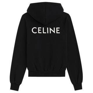セリーヌ(celine)のceline セリーヌ クラシックスウェットシャツ パーカー L(パーカー)