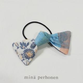 ミナペルホネン(mina perhonen)のミナペルホネン ハンドメイドヘアゴム choucho×celebrate(ヘアアクセサリー)