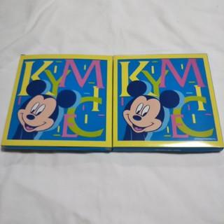 ミッキーマウス - ミッキーウォッシュタオル  2枚