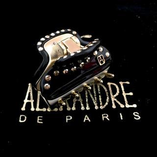 Alexandre de Paris - アレクサンドルドゥパリ クリップ ヴァンドーム 背面スワロ ブラック 4.5