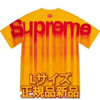 Supreme - 送料込 Supreme Bleed Logo S/S Top L
