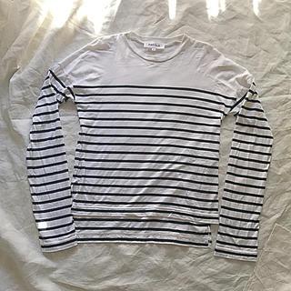 エンフォルド(ENFOLD)のエンフォルド ENFOLD ボーダー Tシャツ ロンT(Tシャツ(長袖/七分))