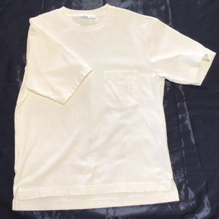 UNIQLO - メンズ白Tシャツ   Mサイズ