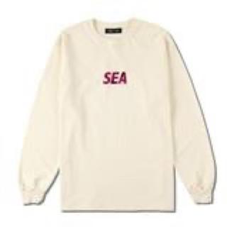 Supreme - SEA(foil) L/S T-SHIRT / IVORY (CS-208)