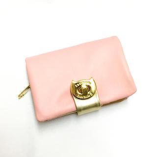 TSUMORI CHISATO - 希少!【ツモリチサト 】ネコ型金具 ピンク色 折財布 新品