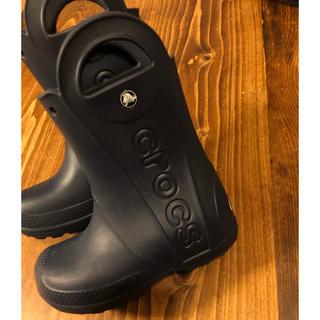 crocs - クロックス 長靴 レインブーツ◯18.5cm