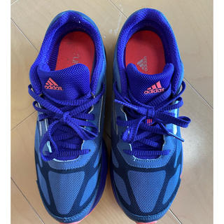 adidas - アディダス スニーカー 24.5cm ran fast ランファースト