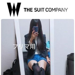 スーツカンパニー(THE SUIT COMPANY)の長袖 ジャケット 黒 紺(テーラードジャケット)