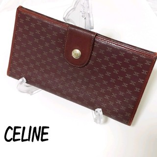 セリーヌ(celine)の【正規品】CELINE セリーヌ 長財布 ロゴ (財布)