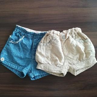 女の子 短パン80