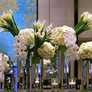 フランフラン(Francfranc)の造花 バラ 薔薇 ホワイト 7輪(プリザーブドフラワー)