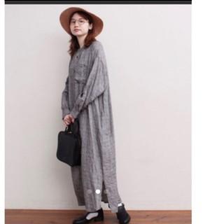 フィグロンドン LINEN pajama dress