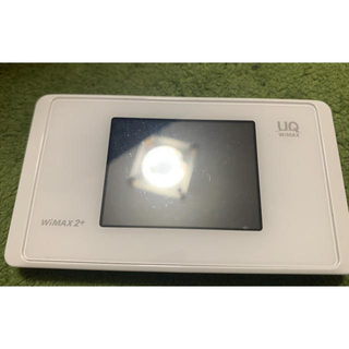 エヌイーシー(NEC)のUQ WIMAX2+ Speed Wi-Fi NEXT  WX05(PC周辺機器)