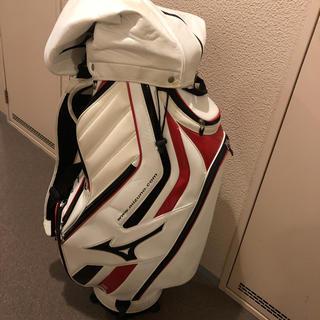 ミズノ(MIZUNO)のキャディバッグ MIZUNO ミズノ ゴルフキャディバッグ ゴルフバッグ 送料込(バッグ)